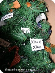names of god tree