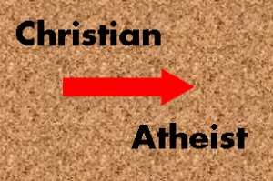 christian to athiest